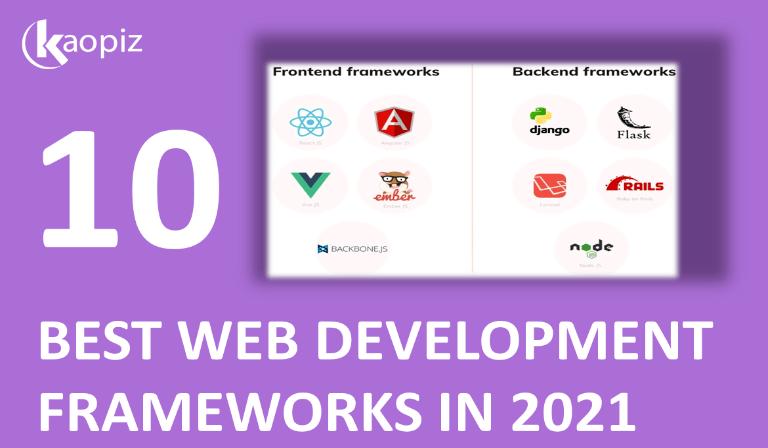 10-best-web-frameworks-in-2021